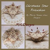 MTV Designs - Christmas Star Pincushion_THUMBNAIL