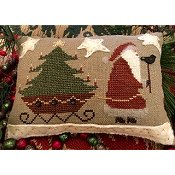 Homespun Elegance - Merry Noel Collection - Santa's On His Way