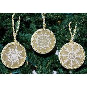DebBee's Designs - Snowflake Ornaments