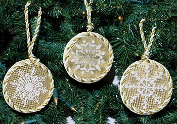 DebBee's Designs - Snowflake Ornaments_MAIN