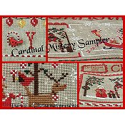 Mani Di Donna - Cardinal Mistery Sampler Part #2 - Christmas Presents