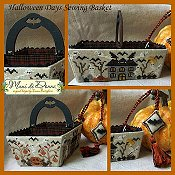Mani Di Donna - Halloween Days Sewing Basket