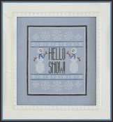 Country Cottage Needleworks - Hello Snow