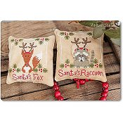 Madame Chantilly - Santa's Fox and Raccoon