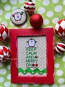Amy Bruecken Designs - Keep Calm and Merry On THUMBNAIL