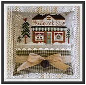 Little House Needleworks - Hometown Holiday Series - #15 Needlework Shop