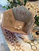 Stacy Nash Primitives - Noel Sewing Basket THUMBNAIL