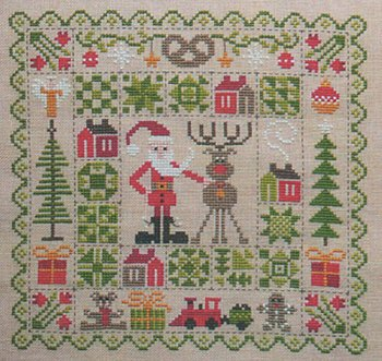 Jardin Prive - Patchwork De Noel MAIN