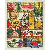 Janlynn Cross Stitch Kit - Summer Montage