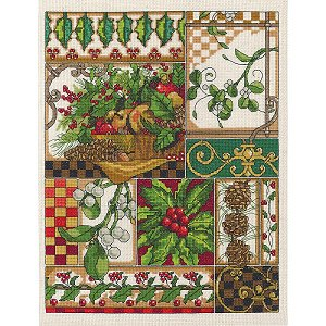 Janlynn Cross Stitch Kit - Winter Montage MAIN