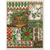 Janlynn Cross Stitch Kit - Winter Montage_THUMBNAIL