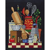 Janlynn Cross Stitch Kit - Kitchen Still Life