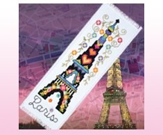 Paris Bookmark