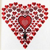 Freda's Fancy Stitching - Heartbeats