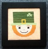 Needle Bling Designs - Home Decor - March Leprechaun