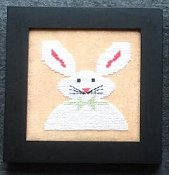 Needle Bling Designs - Home Decor - April Rabbit THUMBNAIL