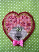 Val's Stuff - Ewe Are My Sunshine - A Special Valentine Kit