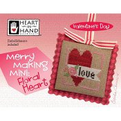 Heart In Hand Needleart - Merry Making Mini - Floral Heart_THUMBNAIL