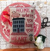 Annie Beez Folk Art - Home Is Where You Hang Your Heart THUMBNAIL