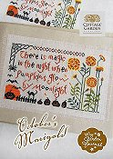 Cottage Garden Samplings - My Garden Journal - October's Marigold THUMBNAIL
