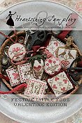 Heartstring Samplery - Festive Little Fobs Valentine Edition