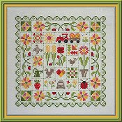 Jardin Parive - Patchwork Ete