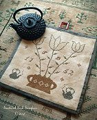 Scattered Seed Samplers - Tea Time Kettle Mat THUMBNAIL