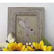 Designs By Lisa - The Hare & The Butterfly THUMBNAIL