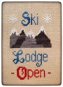 Pickle Barrel Designs - Winter Weekend Series Part 1 - Ski Lodge THUMBNAIL