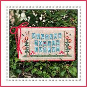 Country Cottage Needleworks - Welcome To The Forest - Forest Banner Part 1 THUMBNAIL