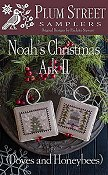 Plum Street Samplers - Noah's Christmas Ark II - Doves and Honeybees THUMBNAIL