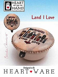 Heart In Hand Needleart - Land I Love MAIN
