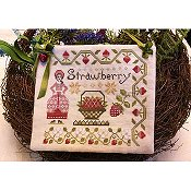 Lila's Studio - Dinah's Garden - Strawberry