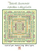 Carolyn Manning Designs - The Secret Summer Garden Labyrinth