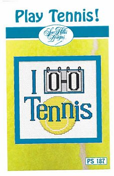 Sue Hillis Designs - Play Tennis! MAIN