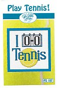 Sue Hillis Designs - Play Tennis!