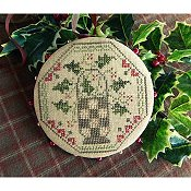 Threadwork Primitives - Quaker Holly Pinwheel THUMBNAIL