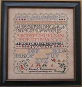 Queenstown Sampler Designs - Elizabeth Borton 1834 THUMBNAIL