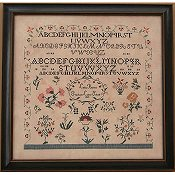 Queenstown Sampler Designs - Lydia Borton 1819