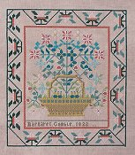 Queenstown Sampler Designs - Margaret Gamble 1822 THUMBNAIL