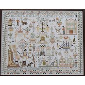 Queenstown Sampler Designs - Maria Jenuaria 1833-34