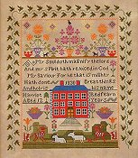 Queenstown Sampler Designs - Harriot Redfearn 1830 THUMBNAIL