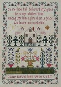 Queenstown Sampler Designs - Jane Davis 1811 THUMBNAIL