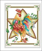 Vickery Collection - December Rooster THUMBNAIL