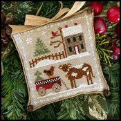 Little House Needleworks - Farmhouse Christmas 4 - Dairy Darlin'_THUMBNAIL