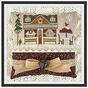 Little House Needleworks - Hometown Holiday Series - #16 Coffee Shop