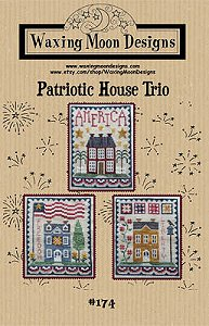 Waxing Moon Designs - Patriotic House Trio MAIN