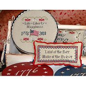 Abby Rose Designs - Long May She Wave - A Patriotic Series Part 2 - Life, Liberty, Happiness THUMBNAIL