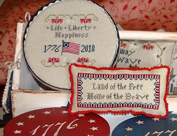Abby Rose Designs - Long May She Wave - A Patriotic Series Part 2 - Life, Liberty, Happiness MAIN