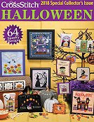 Just Cross Stitch 2018 Halloween Special Collector's Issue THUMBNAIL